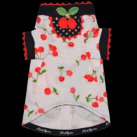 Fifi & Romeo Limited Edition Cotton Cherry Top with Pockets