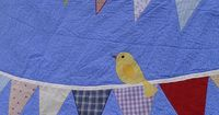 Bird and Bunting Quilt (from: helpinglittlehands.blogspot.com)