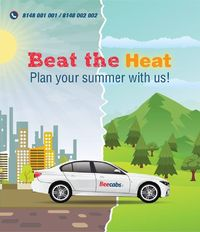 Beat The Heat with #Beecabs Car Rental - Our Summer Holiday packages offer the best opportunities to spend some quality time with your family. Choose the package for an adventure holiday of a lifetime. Whatever you choose, you are sure to find something e...