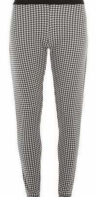 Dorothy Perkins Womens Black and White Gingham Style Treggings- Pull on style treggings in black and white gingham print. Wearing length is approximately 74cm. 100% Polyester. Machine washable. http://www.comparestoreprices.co.uk//dorothy-perkins-wome...