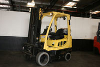 This 2008 Hyster 5000 LB forklift will lift to a height of 189�€ and is equipped with Side Shifter. Unit has Cushion tires. Put this unit on a 60 month, $1.00 buyout lease for only $185 per month plus tax. @ http://www.ecolalift.com/product/hyster-s...
