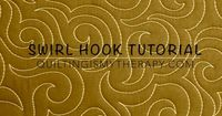 This tutorial will show you how to quilt a variation of the basic swirl, called the hook swirl. This machine quilting design is perfect for pointy blocks or ...