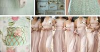 Blush and mint wedding inspiration from