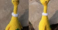 "Star Bellied Sneetch - Free Amigurumi Pattern - PDF File - Click""download"" here: http://www.ravelry.com/patterns/library/star-bellied-sneetch"