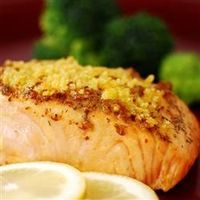 Baked Salmon Fillets Dijon- Oh my, were these delicious! You really couldn't put in less effort to yield something so tasty! I may have just found a way to get Josh to eat fish once a week!
