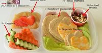 school lunch tip - sending healthy food for lunch, Super Healthy Kids