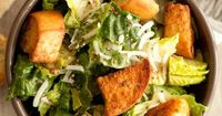 The Best Caesar Salad (with a new dressing)