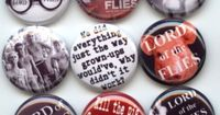 "Lord of the Flies 9 Pinback 1"" Buttons Badges Pins from Etsy"
