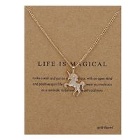 Life Is Magical Unicorn Statement Necklace | https://herdsofunicorns.com