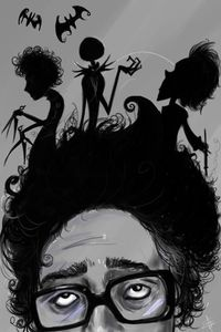 the mind of Tim Burton