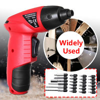 25Pcs 4.8V Cordless Electric Screwdriver Multifunctional Rechargable Power Screw Driver Tool
