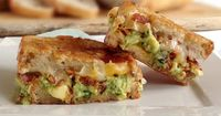 Imagine a grilled cheese filled with salty bacon, creamy guacamole and delicious cheese. Now quit drooling, head into the kitchen and make it!