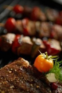 Broiled Steak Kabobs