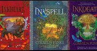 Inkheart Series (My little sister keeps pinning books that I remember I love.)