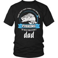 This Dad Loves Fishing T-Shirt, Fishing T-Shirt, Fishing Gifts, Dad T-Shirt, Gift for Dad, Fishing Dad, Fathers Day $20.99