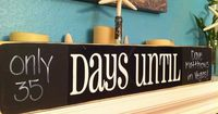 Would be cute with chalkboard paint