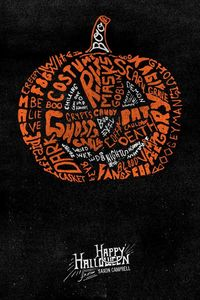 Many Types of Halloween by Saxon Campbell, via Behance