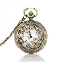 Price: $20.49 | Product: Vintage Bronze Pocket Watch | Visit our online store https://ladiesgents.ca