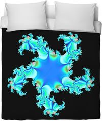 ROB Blue Ninja Star Duvet Cover $120.00