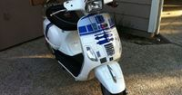 R2-D2 Star Wars scooter