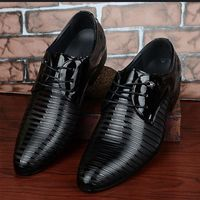 Price: $36.74 | Product: Men's Lace-Up Oxfords Dress PU Leather Business Office Wedding Shoes | Visit our online store https://ladiesgents.ca