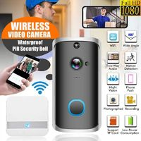 Intelligent WiFi Wireless Visual Doorbell Villa Video Doorbell Remote Video Screen Speech Interview Doorbell