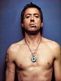 Robert Downey Jr..Mmm what a sexy older man. I'd hit it =P