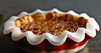 Ruffled Silicone Pie Crust Shield --to protect the crust from burning..genius!