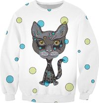 Hipster Kitty Sweatshirt $59.95