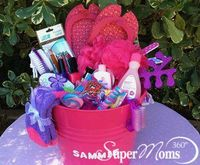 If your little girl loves to pamper herself, our Mani-Pedi Party basket is perfect. Fill ...