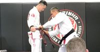 """I received my brown belt today from Rubens Charles """"Cobrinha."""" But that's only half the story, the other half is all the personal struggles we all go through that no one knows about. It's about #resilience. #bjj #martialarts #happiness"""