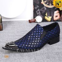 CWMALLS® Designer Embossed Dress Loafers CW707005