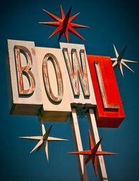 bowling alley sign/symbolism. Stanleys escape from the hectic, crazy lady(blanche) and world at home
