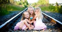 Stenberg Photography ~ Outdoor Children Photography, love to use the railroad tracks :)