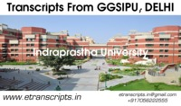 Each set of transcripts/attested mark-sheets from Guru Gobind Singh Indraprastha University, New Delhi is issued in a separate sealed and stamped/signed. You can submit your documents on our website www.etranscripts.in and apply for your transcripts from ...