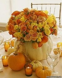 fall wedding table - Click image to find more Weddings Pinterest pins