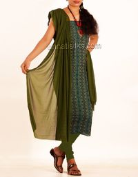 online shopping for handloom pure cotton salwar kameez are available at www.unnatisilks.com