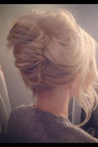 """French twists are my fav & the """"messy"""" French twist looks more modern & fun."""