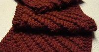 Ravelry: Simple Scarf for Him pattern by Kim Fluck