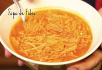 A easy to follow recipe of traditional Mexican Fideo.