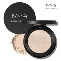 MYS Professinal Face Makeup 6 Color Bronzer And Highlighter Palette Powder Make Up Glow Kit Highlighter Contour Palette $8.49