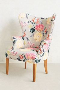 Lotus Blossom Wingback Chair #anthroregistry #newhome
