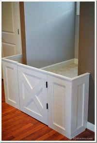 Ana White   Build a DIY Baby Gate - Feature by PBJ Stories   Free and Easy DIY Project and Furniture Plans
