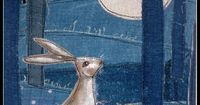 could not find source of this fabric art bunny . . .