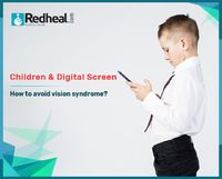 Children spend most of their time with digital screens now-a-days which may lead to vision syndrome. Read out to get tips on how to avoid vision syndrome.