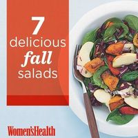 Delicious Salads with Fall Foods | Women's Health Magazine
