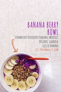 If you couldn't tell from my meaningful Love Letter to Acai Bowls,..I have this problem where I can't stop eating fruit and granola filled things in bowl form. I ACTUALLY CAN'T STOP. Please don't send help, I'm happier he...
