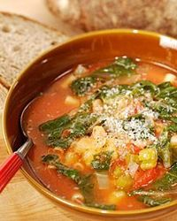 Try this autumn minestrone soup recipe any night for a warm treat.