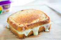 Chicken and Brie Grilled Cheese.