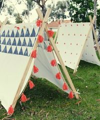 handmade tent tutortial diy